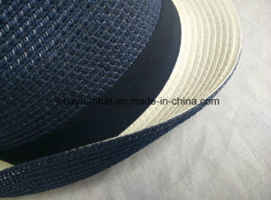 90%Paper 10% Polyester with Bowknot Fedora Hats pictures & photos
