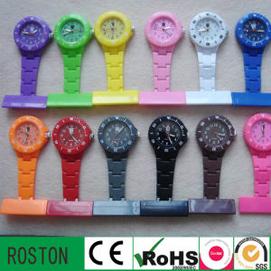 Fashion New Plastic Nurse Watch with Waterproof pictures & photos