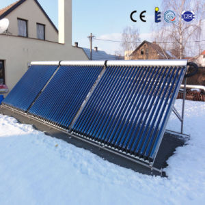Manifold Heat Pipe Solar Collectors for Big Water Heating Project pictures & photos
