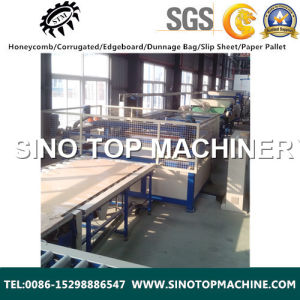 Honeycomb Cardboard Laminating Machine Made in China pictures & photos