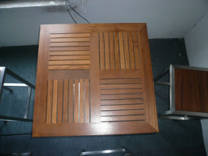 Outdoor Square Teak Wood Table Top pictures & photos