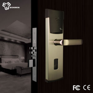 FCC Approved Stainless Steel Electronic Hotel Door Lock pictures & photos