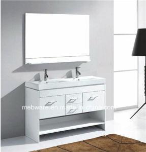 Modern Solid Wood Bathroom Vanity Set pictures & photos