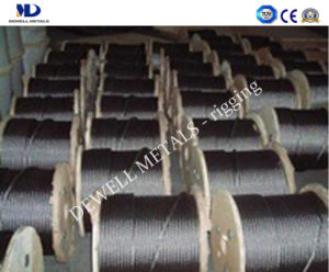 Galv. 6X19+Iwrc Steel Wire Rope pictures & photos