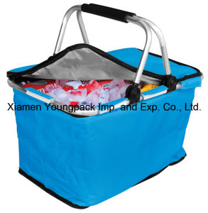 Promotional Custom Collapsible Picnic Cooler Basket pictures & photos