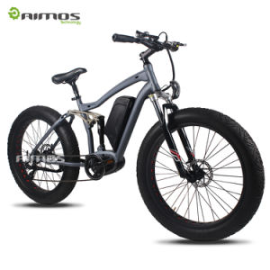 2017 New MID Drive Snow Mountain Electric Bike with MID Drive Motor pictures & photos
