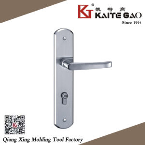 Satin Finish Stainless Steel Door Handle on Plate (KTG-8509-019) pictures & photos