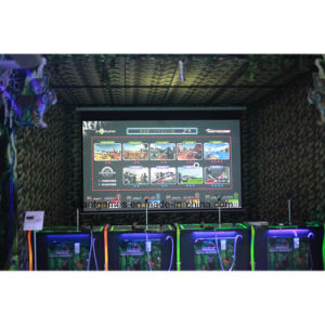 Mantong Coin Operated Hunting Interactive Arcade Machine Gun for Shooting pictures & photos