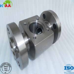 China Precision CNC Milling Machining Steel Flange for Marine Industry pictures & photos