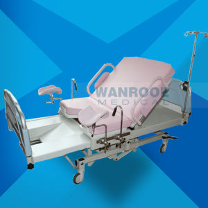 Medical Equipment Operating Room Adjustable Electric Labor Birthing Obstetric Delivery Bed pictures & photos