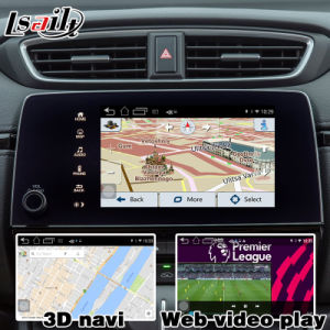 Android 4.4 5.1 GPS Navigation System Box for Honda Cr-V Video Interface Touch Android System Navigation Rear View Mirror Link pictures & photos