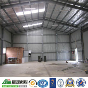 Designed Prefabricated Steel Structure Warehouse Building Shed pictures & photos