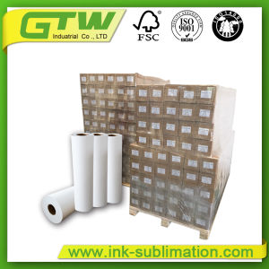 Classic Weight 100 GSM Fast Dry Sublimation Paper for Textile Printing pictures & photos
