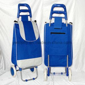 Yiwu China Manufacturer of Store Supermarket Folding Shopping Cart pictures & photos