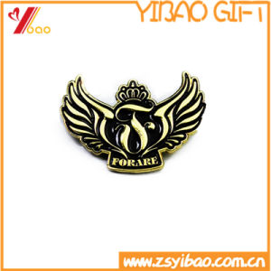 Custom Gold Plated Pin with Butterfly clutch (YB-LP-04) pictures & photos