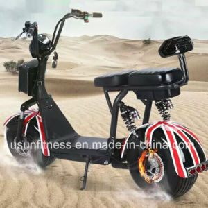 Two Wheels Fat Tire Electric Scooter with Ce pictures & photos
