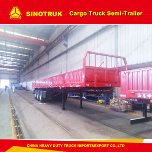 3 Axle Truck Trailer 50ton 80ton Cargo Semi Trailer Utility Trailer pictures & photos