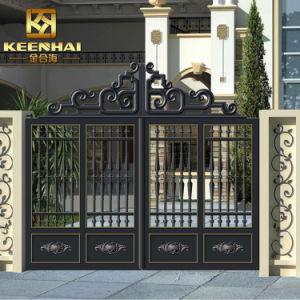 Decorative Modern Colored Metal Cast Aluminum Garden Gate pictures & photos