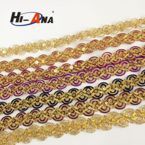 OEM Custom Made Top Quality Yiwu Metallic Braid Trim pictures & photos