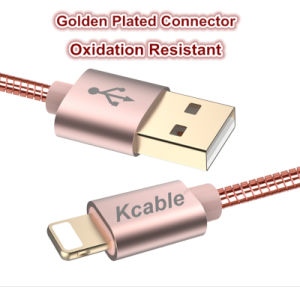 Multi Nylon Braided 2 In1 USB Cord USB Data Cable High Speed USB 2.0 Universal Charging for Phone pictures & photos
