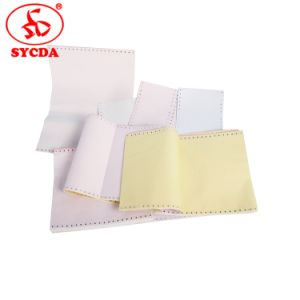 Coated Carbonless Computer Printing Paper 50g pictures & photos