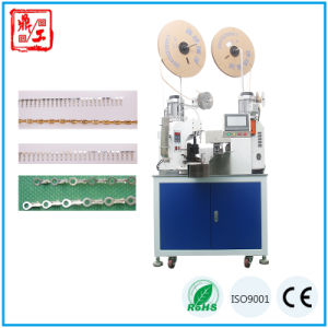 Good Quality Double Ends Wire Cutting Stripping Twisting and Terminal Crimping Machine pictures & photos
