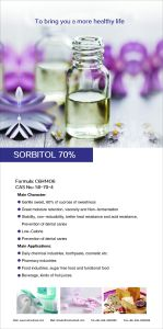 Sorbitol 70% Solution for Beverage pictures & photos