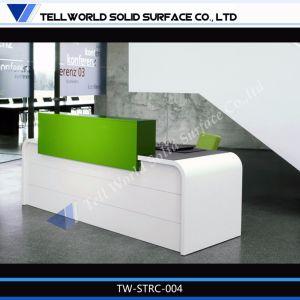 Elegant Modern Reception Desk Photos Counter Reception Lobby Design Desk pictures & photos