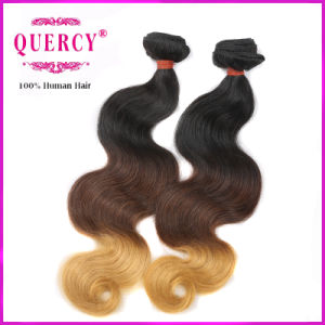 7A Grade 100% Human Omber Color Body Wave Russian Hair Extension pictures & photos