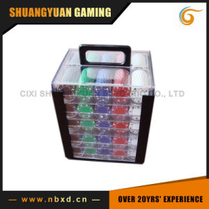 1000PCS Poker Chip Set in Acryl Case pictures & photos