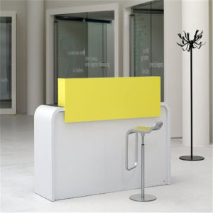 hot sale new design commercial furniture small nail salon reception desk