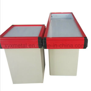Metal Cash Register Stands Checkout Counter pictures & photos