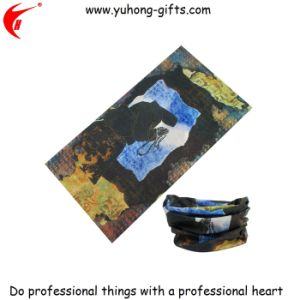 Cheap Seamless Tube Screen Printed Scarf for Sale (YH-HS013) pictures & photos