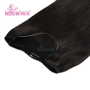 Human Virgin Remy Halo Hair Extension for Wholesale Price pictures & photos
