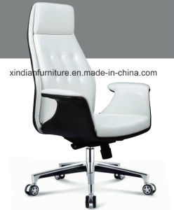 Hot Sale PU Leather Fixed Chair for Meeting Used pictures & photos
