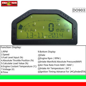 Multi Function Combination Gauge OBD Dash Board Gauge Digital Dash Display (903) pictures & photos