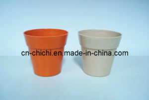 Flower/Plant Pot/Bamboo Fiber/Plant Fiber/Vase/Garden/Promotional Gifts/Home Decoration/Garden Decorations/Natural Bamboo Fiber Biodegradable Pots (ZC-F20003)