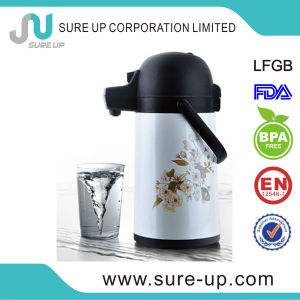 2014newest Printed Vacuum Thermos Water Glass Inner Coffee Air Pot pictures & photos