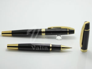 Factory Price Promotional Metal Writing Pen with Laser Logo pictures & photos
