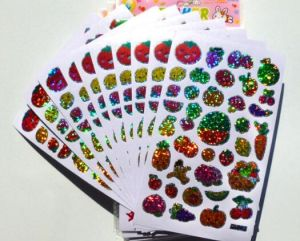 Cusotm Mini Printing Fruit Labels pictures & photos