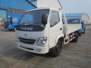 T-Kng 1 Ton Gasoline/ Diesel Small Flatbed Cargo Truck (ZB1022BDAS) pictures & photos