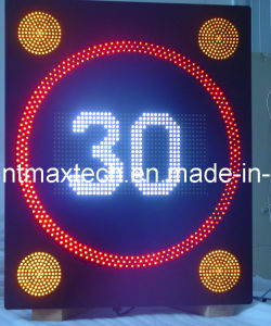 Fixed Variable Traffic Speed Limited Sign pictures & photos