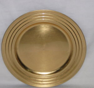 China Gold Charger Plates Wholesale Charger Plates For