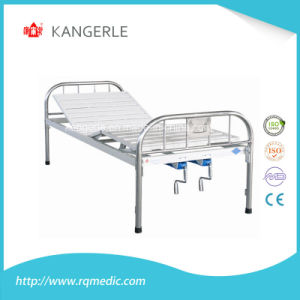 Stainless Steel Hospital Bed. Flat Bed China Factory