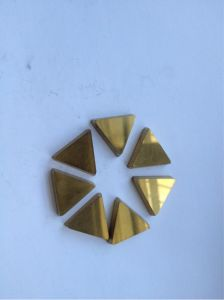 "Tungsten Carbide Inserts 3/4"" Triangle"