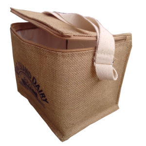Special Design Cooler Bag, with Jute, Cotton, Woven pictures & photos
