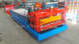 Steel Step Tile Roll Forming Machine for Nigeria Customer pictures & photos