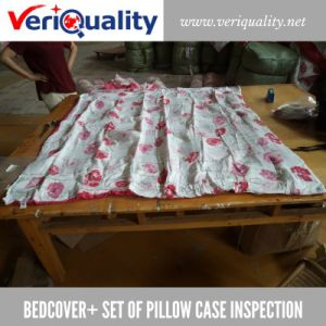 Bedcover+ Set of Pillow Case Quality Control Inspection Service at Jiande, Zhejiang pictures & photos