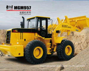 Mgm957 3cm3 Front Bucket Chinese Loaders with Raising Discharde Height