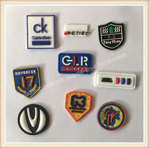 Custom Silicone Stikers Logo pictures & photos